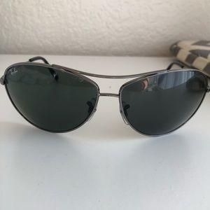 Rayban unisex black aviator 3454l sunglasses